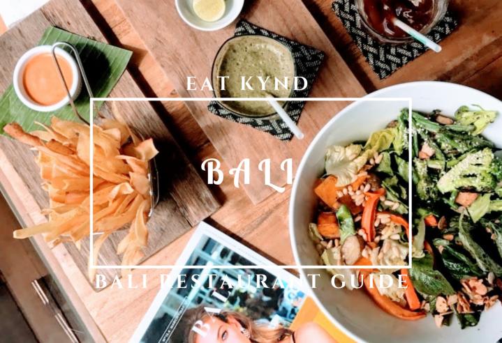 Bali restaurant guide